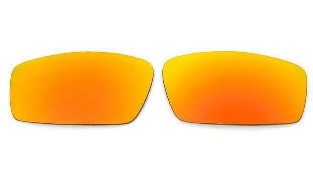 f9cd0c130ee NEW POLARIZED CUSTOM FIRE RED LENS FOR OAKLEY SQUARE WIRE SUNGLASSES